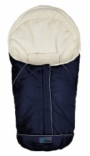 AL2003 Altabebe Зимний конверт Nordic Pram & Car seat, navy blue/whitew